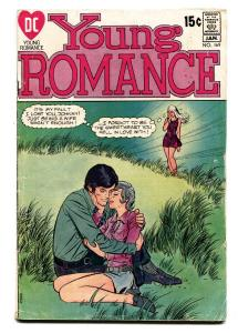 YOUNG ROMANCE #169 1970-DC ROMANCE-CRYING-VG