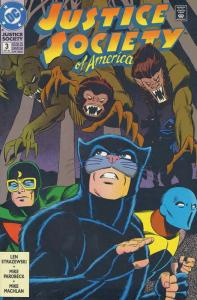 Justice Society of America #3 VF/NM; DC | save on shipping - details inside