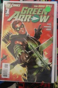 Green Arrow 1 1st Print NM/MT New 52