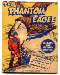 Mighty Midget #12 1943-Phantom Eagle- VF