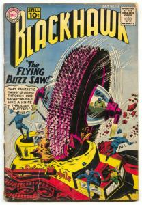 Blackhawk #162 1961-FLYING BUZZSAW- DC comics G