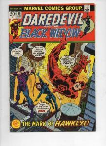 DAREDEVIL #99 FN Gene Colan, Murdock, Black Widow, 1964 1973, Marvel