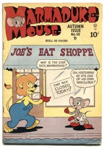 Marmaduke Mouse #10 1946- Golden Age Funny Animals FN-