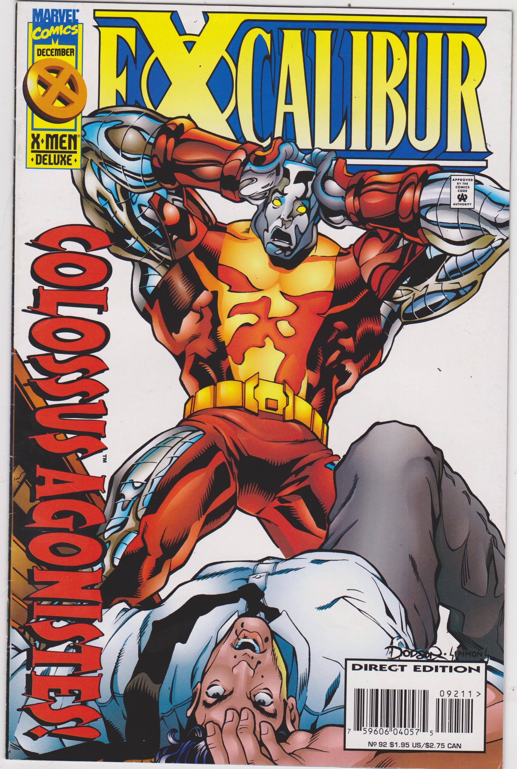 Excalibur 1988 series # 33 very fine comic book