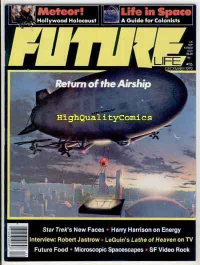 FUTURE #15, Sci-Fi Magazine, Star Trek, VF/NM , Meteor, 1978, Airship, Space