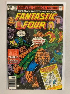 Fantastic Four #209 Newsstand 1st appearance of Herbie the Robot 6.0 FN (1979)