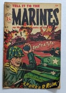 Tell It To The Marines #12 (Mar 1955, Toby) Fair/Good 1.5