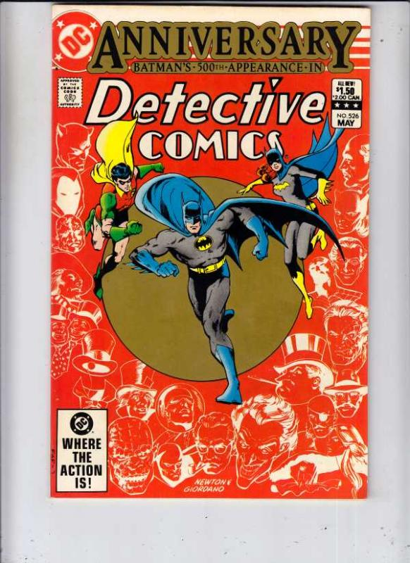 Detective Comics #526 (May-83) NM- High-Grade Batman