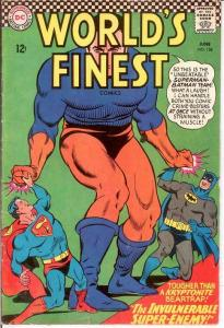 WORLDS FINEST 158 G-VG   June 1966 COMICS BOOK