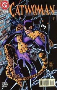 Catwoman 37  1996  9.0 (our highest grade)  Jim Balent Art!