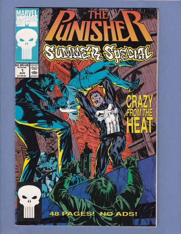 Punisher Summer Special Lot #1 #2 #3 Marvel Comics 1993