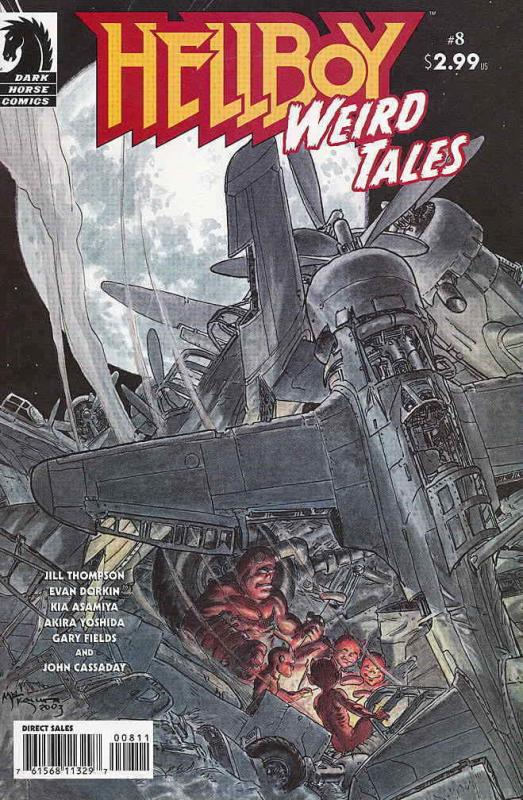 Hellboy: Weird Tales #8 VF/NM; Dark Horse | save on shipping - details inside