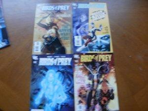 4 DC Comic BIRDS OF PREY #112 Blake #116 Shark #120 Mad Science #122 Fear Itself
