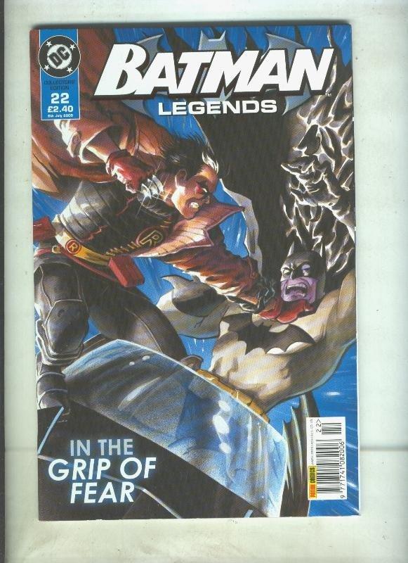 Batman Legends volumen 1 numero 22
