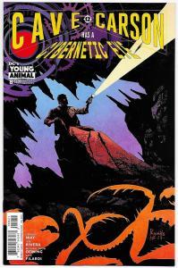 Cave Carson Has A Cybernetic Eye #8 Variant Cvr (DC, 2017) NM
