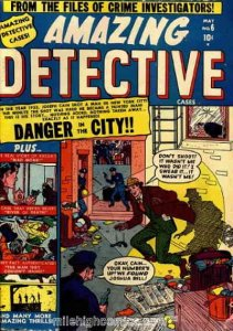 Amazing Detective Cases #6 POOR; Marvel | low grade comic - save on shipping - d