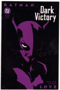 BATMAN Dark Victory #5 (NM-) Catwoman DC Comics