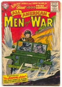 All-American Men Of War #38 1956- Jumping Jeep G/VG