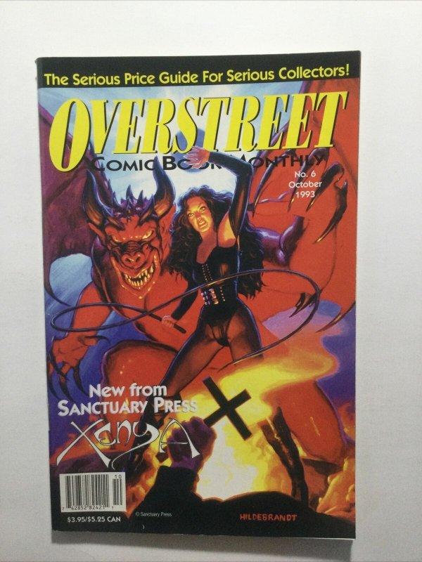 Overstreet Comic Book Monthly No 6 October 1993 Vf 8.0 Tracing Overstreet
