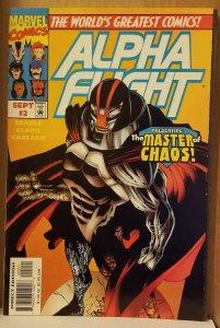 Alpha Flight Vol 2 #2