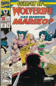 WHAT IF WOLVERINE HAD MARRIED MARIKO#43 FN/VG   MARVEL COMICS
