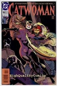 CATWOMAN #11, NM+, Jim Balent, Femme Fatale, TinMen, 1993, more CW in store