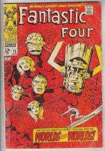 Fantastic Four #75 (Jun-68) VG+ Affordable-Grade Fantastic Four, Mr. Fantasti...