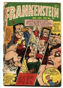 FRANKENSTEIN #28-1954 DICK BRIEFER-PRE-CODE HORROR