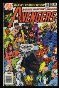Avengers #181 GD+ 2.5 1st Scott Lang! Ant Man!