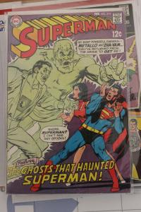 Superman #214 (DC, 1969) Condition: VF+ 8.5