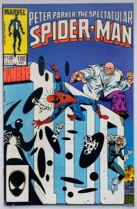 The Spectacular Spider-Man #100 (NM-)(1985)