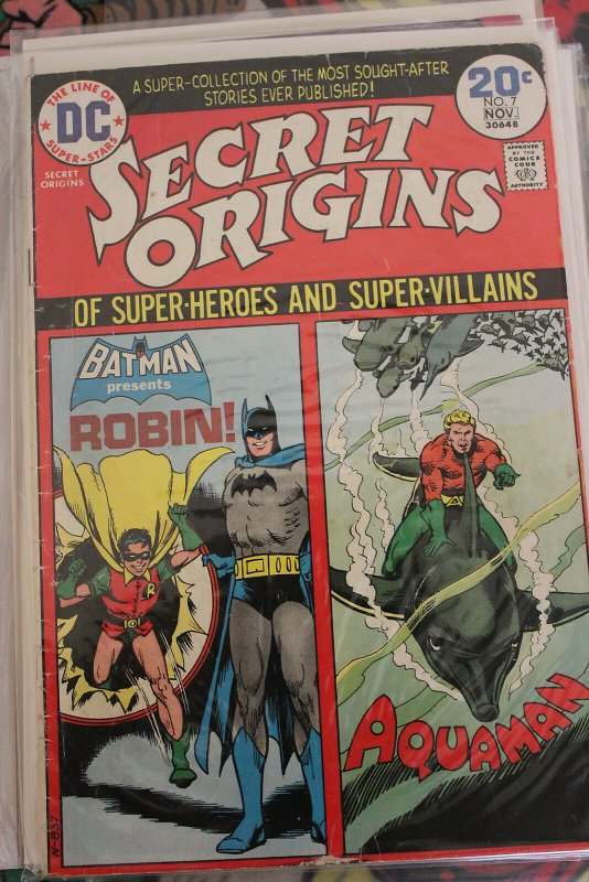 Secret Origins #7 (Oct 1974, DC) VG