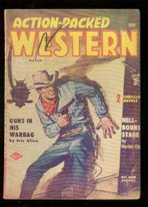 ACTION-PACKED WEST PULP-MAR 1957-BUCK McKEE & TORTILLA FN