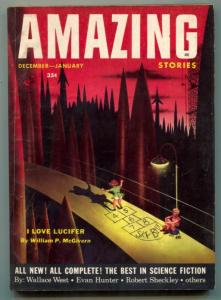 Amazing Stories December 1953- Wallace West- Philip K Dick
