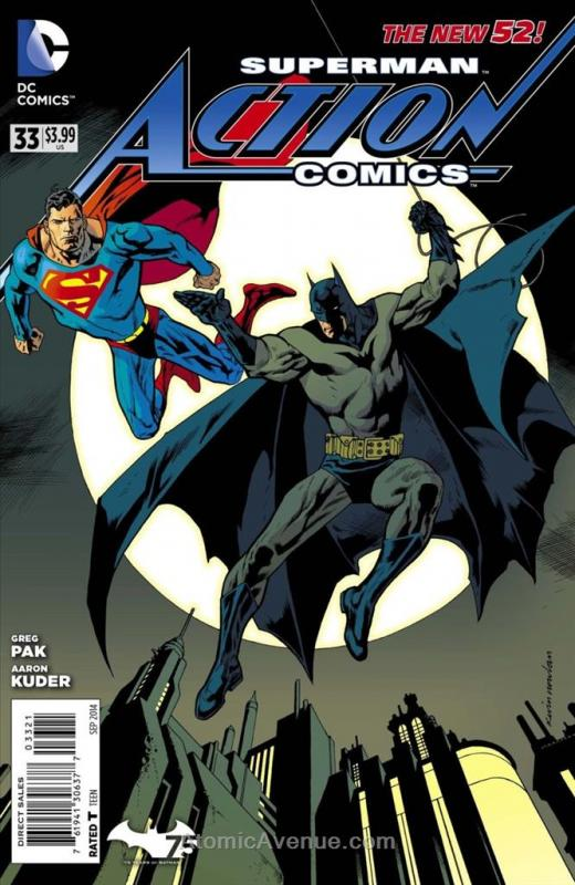 Action Comics (2nd Series) #33A VF/NM; DC | save on shipping - details inside