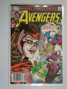 Avengers #234 Newsstand edition 7.5 VF- (1983 1st Series)