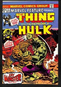 Marvel Feature #11 FN/VF 7.0 Thing Vs Hulk! Comics