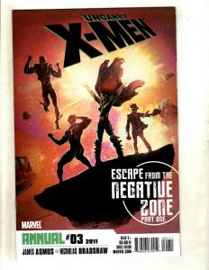 9 Comics Uncanny X-Men Annual 3 1 1 Manifest 5 Exiles 2 New Annual 1 Aven+   RP1