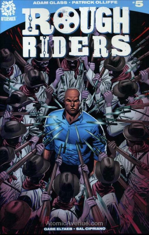 Rough Riders #5 VF/NM; AfterShock | save on shipping - details inside