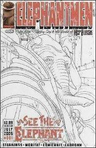 Elephantmen #1 (2nd) VF/NM; Image | save on shipping - details inside