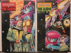 CAPTAIN JOHNER & THE ALIENS 1-2 Russ Manning reprints!