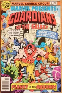 Marvel Presents #5 - Very Good+ 4.5 (Marvel 1976) - Guardians of The Galaxy