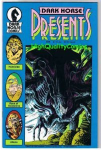 DARK HORSE PRESENTS #24, VF+/NM-, Aliens Origin, 1986, more horror in store