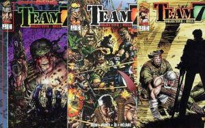 TEAM 7 OBJECTIVE HELL (1995 IM) 1-3  COMPLETE! w/card
