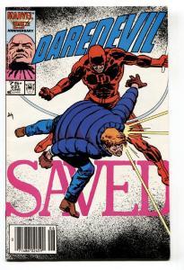 DAREDEVIL #231 1986-Born Again story line-Marvel-comic book