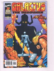 Galactus The Devourer #1 VF Marvel Comics Comic Book Simonson FF Thing DE20