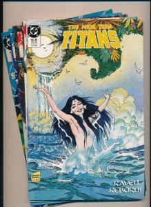 DC Comics Lot of 5 - THE NEW TEEN TITANS#27,28,29,30,39 ~ VF/NM (PF317)