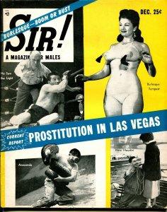 Sir! 12/1955-prostitution-Lili St Cyr-Indo-China vice-Eisenhower-exploitation-FN
