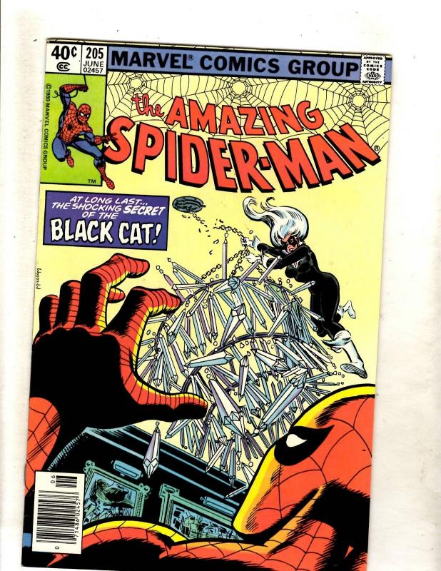 Amazing Spider-Man # 205 NM Marvel Comic Book Goblin Aunt May Mary Jane JF11