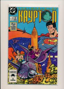 DC Comics THE WORLD OF KRYPTON  #1-1st of 4 issues VF/NM (PF785)